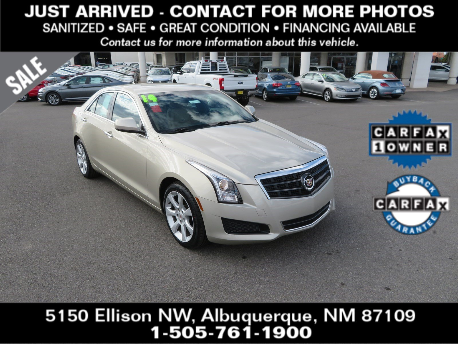 Pre-Owned 2014 CADILLAC ATS 2.0L Turbo