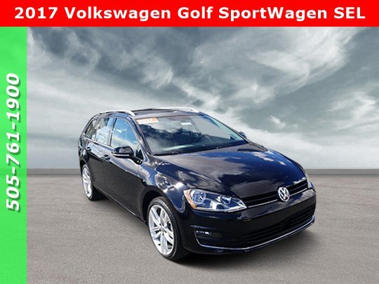 Certified Pre Owned 2017 Volkswagen Golf Sportwagen Sel