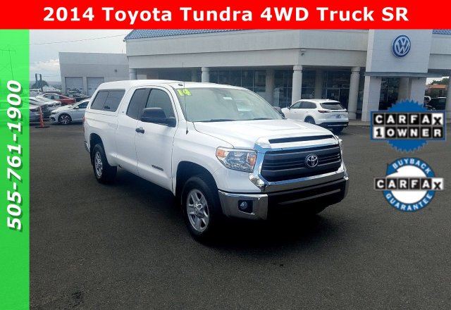University Of Toyota >> Pre Owned 2014 Toyota Tundra 4wd Truck Sr 4wd