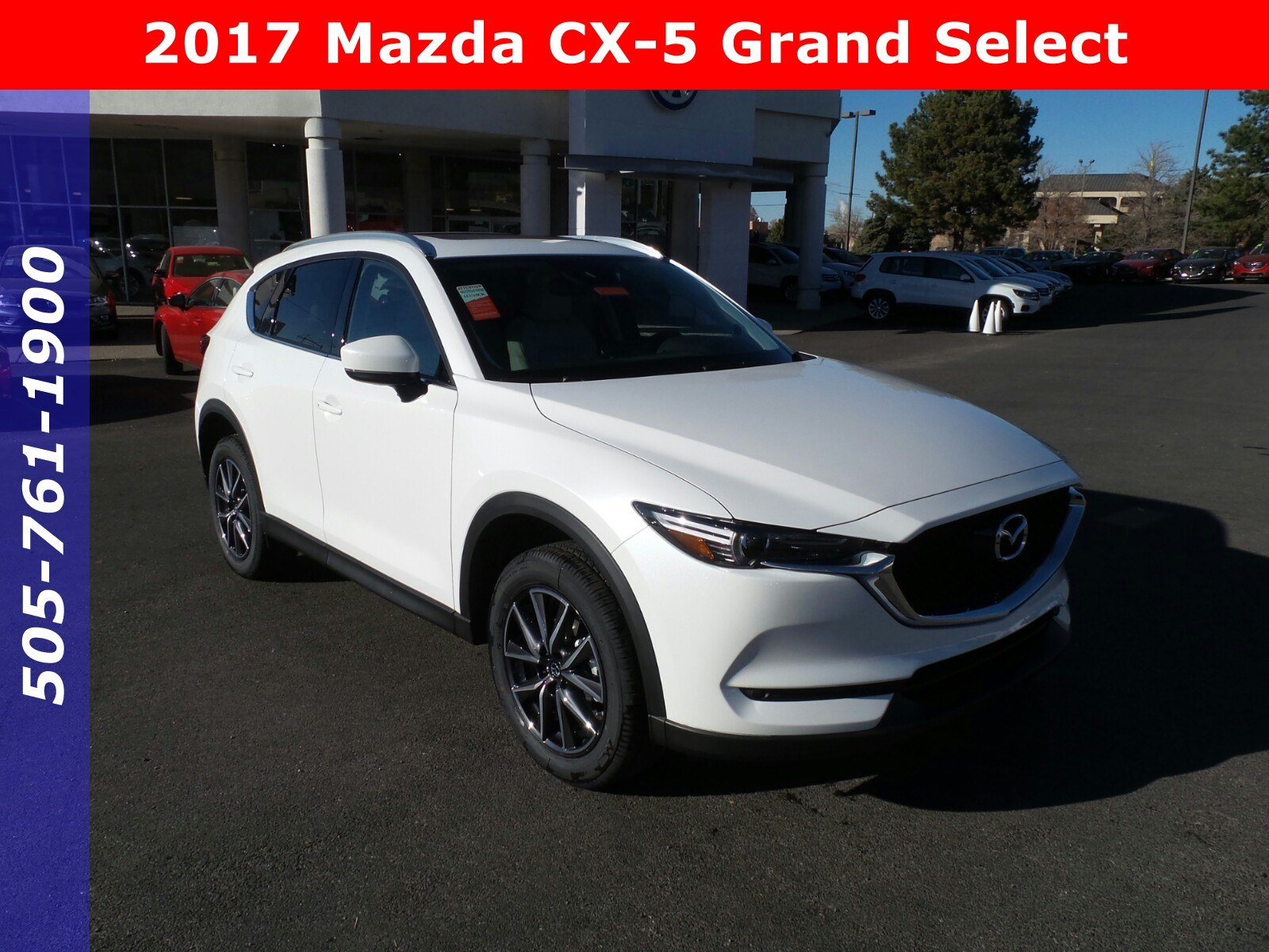 New 2017 Mazda CX-5 Grand Select Sport Utility in Albuquerque ...