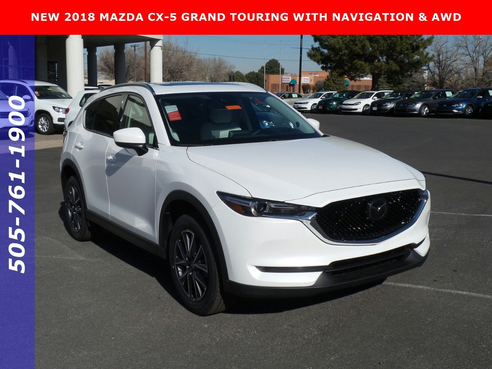 new 2018 mazda cx 5 grand touring sport utility in albuquerque m48038 university volkswagen mazda. Black Bedroom Furniture Sets. Home Design Ideas