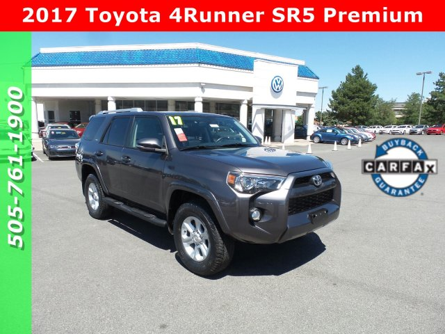 University Of Toyota >> Pre Owned 2017 Toyota 4runner Sr5 Premium With Navigation 4wd