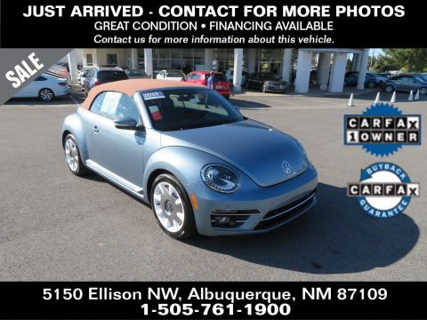 Certified Pre-Owned 2019 Volkswagen Beetle Convertible Final Edition SEL