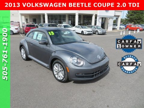 Certified Pre-Owned 2013 VOLKSWAGEN BEETLE COUPE 2.0 TDI